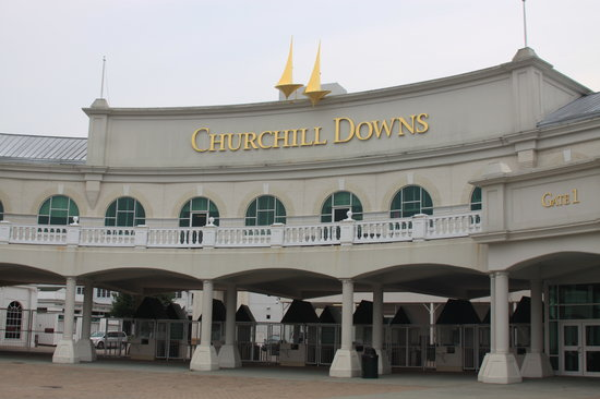 Churchill Downs Starting Gate
